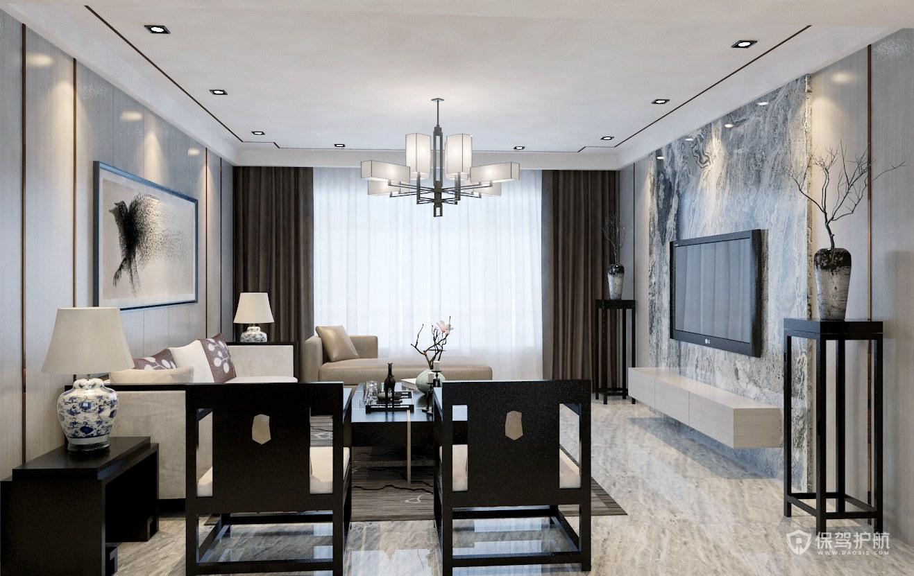 中式客厅沙发坐东朝西好吗?中式客厅沙发怎么摆放