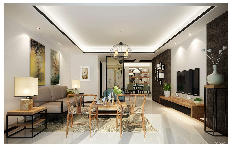 客厅白墙怎么装饰好看?