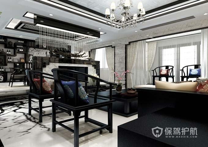 中式客廳裝修合同指南5