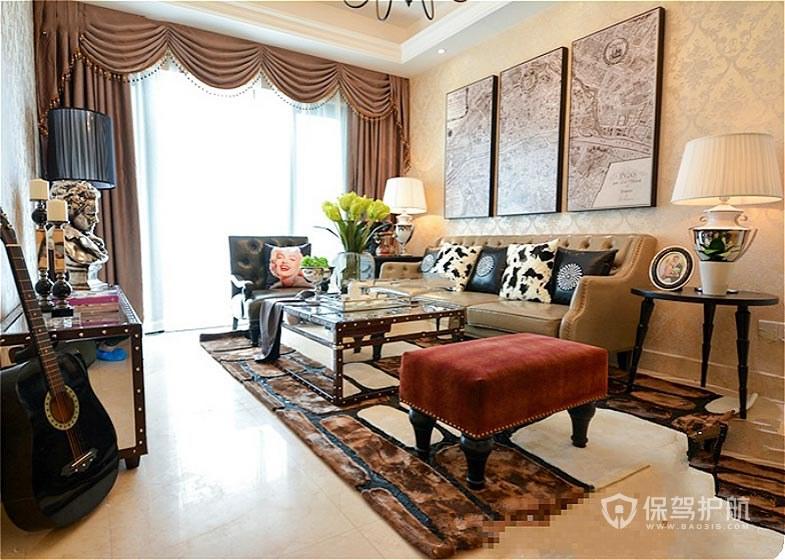 中式客廳裝修合同指南6