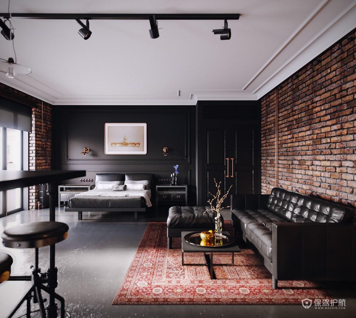 【室内设计】小户型一室公寓装修,也不失功能与风采~(二)