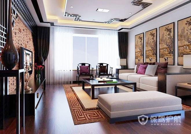 中式客廳裝修合同指南2