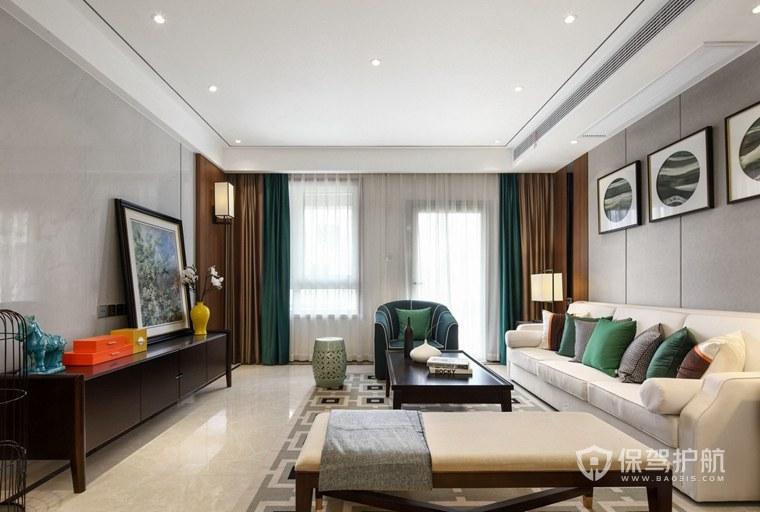 中式客廳裝修合同指南8