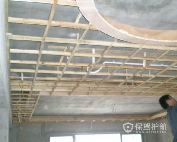 步骤木龙骨吊顶装修卧室技巧v步骤明确方法专题图片