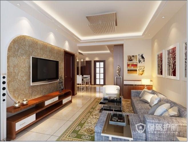 客厅门地板壁纸安装顺序,快来学习下!