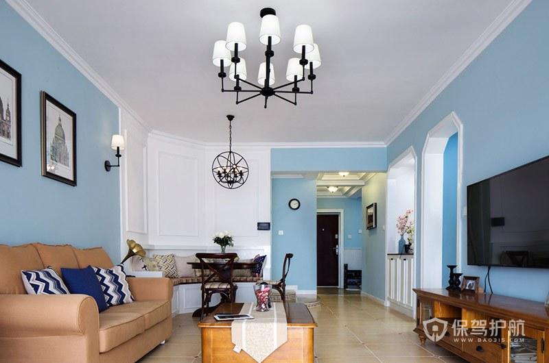 客厅不吊顶走双石膏线怎么装修?