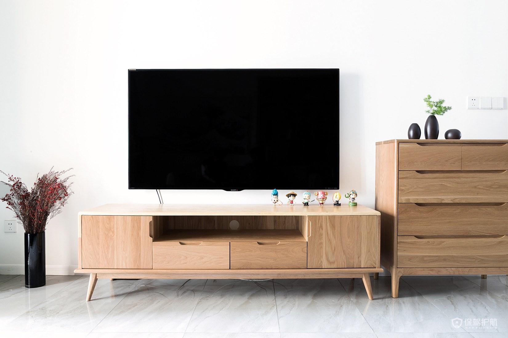 日式电视墙设计,优雅大方的日式电视墙怎么装修?