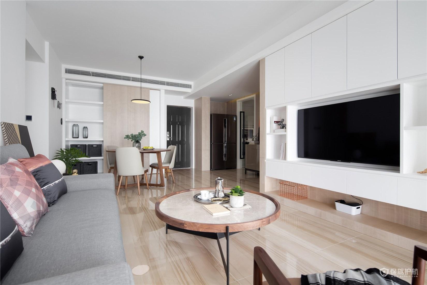 日式电视墙装修流程,客厅电视背景墙怎么装修?
