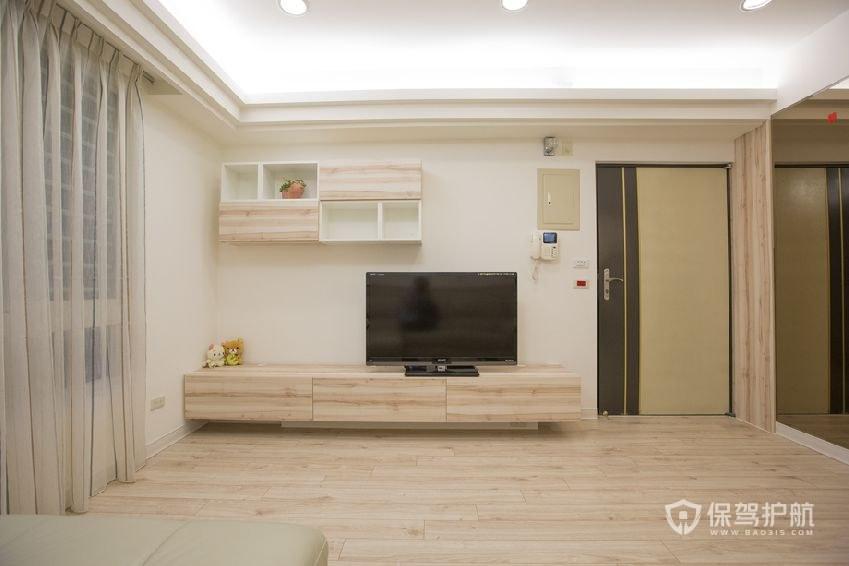 电视墙小怎么装修?小户型电视墙照样也能很有格调