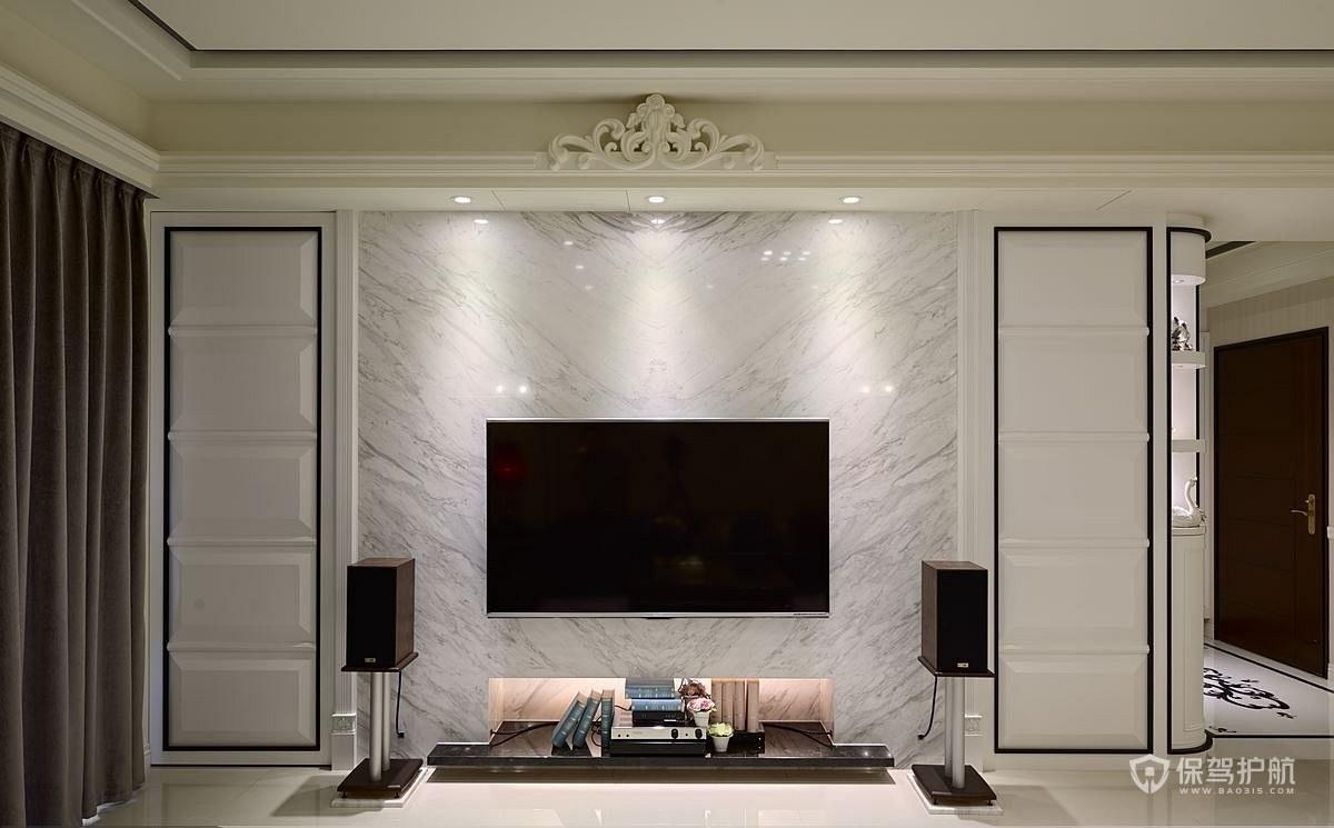 欧式装修电视墙设计,这样装修客厅电视墙最好看
