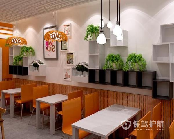 小吃店如何装修设计 小吃店装修设计方案