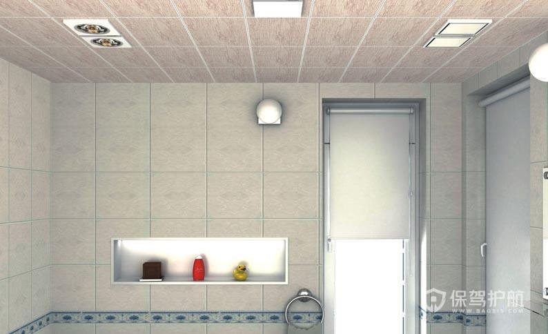 卫生间吊顶用什么材料好?