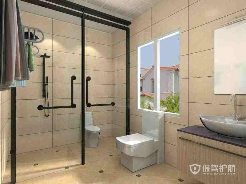 卫生间窗户离地高度是多少?