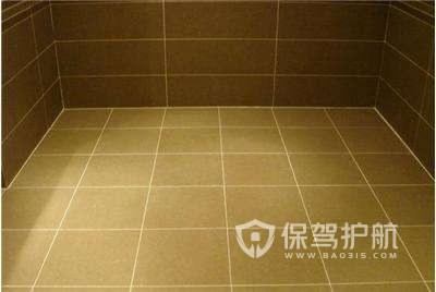 卫生间地砖变黄怎么办?