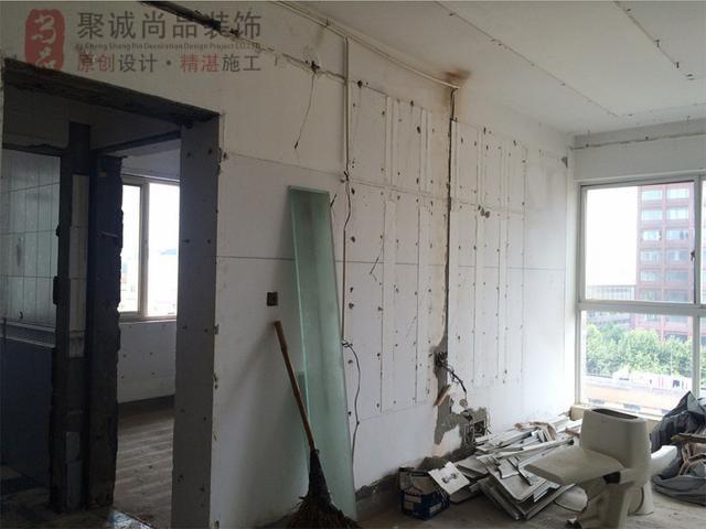 128平二手房装修前后对比图