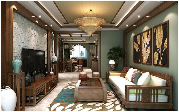 东南亚风格设计让你感受岁月的痕迹