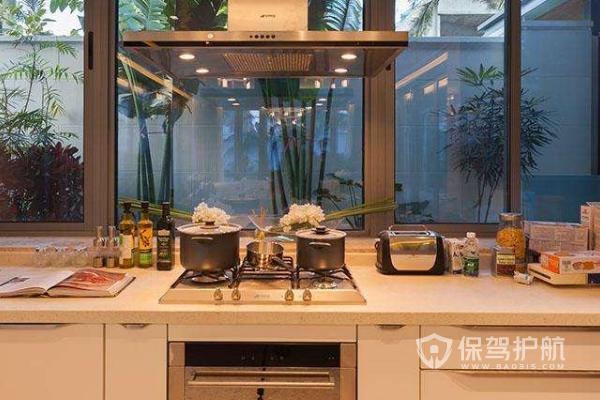 大平层厨房如何装修 大平层厨房设计要素