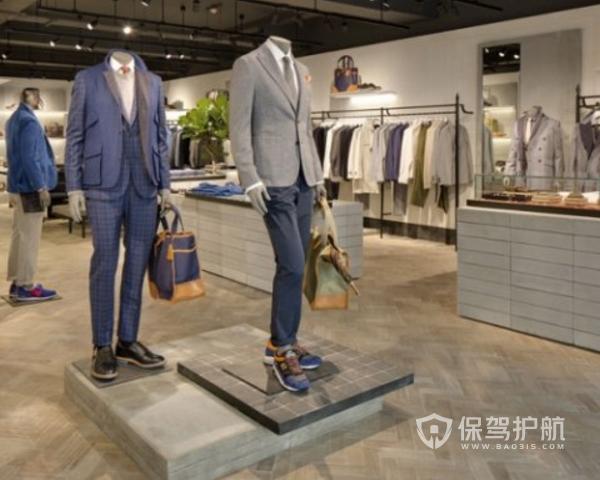 男士服装店施工流程 男士服装店装修注意事项