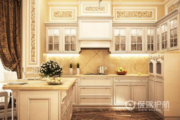 新房子厨房如何设计 新房欧式厨房效果图