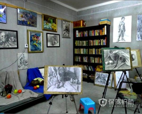 小型画室怎么进行设计 小型画室设计攻略图片