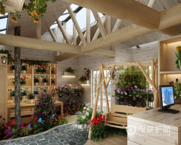 小型花店装修效果图 小型花店装修流程