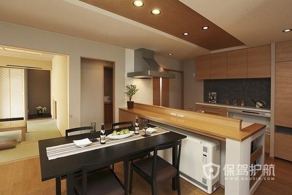 日式风厨房怎样设计好看 日式风厨房装修图片
