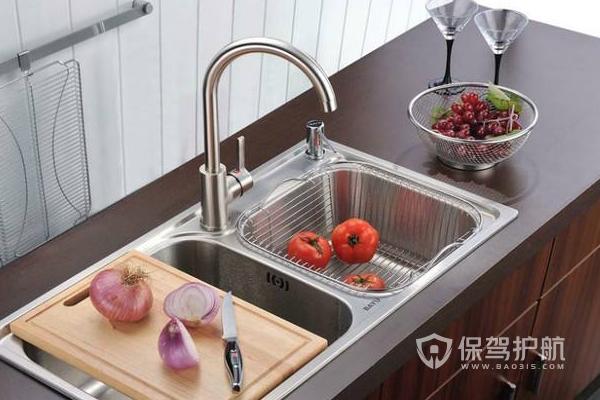 厨房水槽应该如何安装 厨房水槽安装注意事项