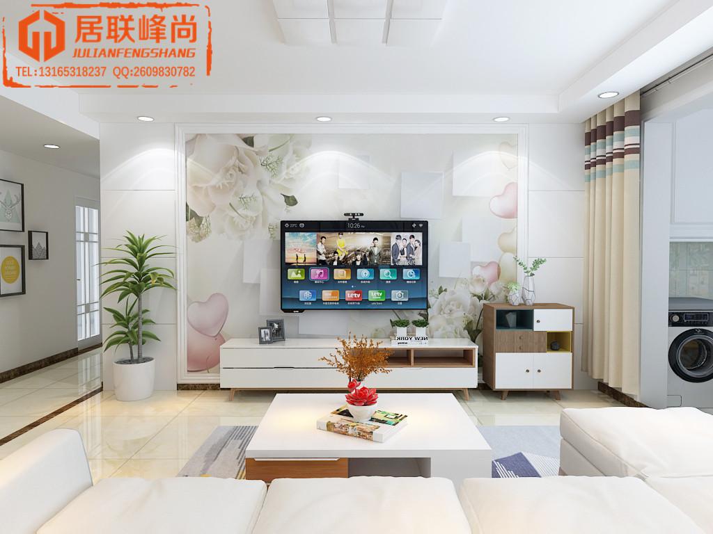 百步亭中国MALL城市之星125平现代简约