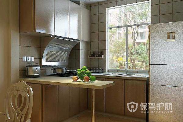 开放式厨房有哪些搭配要点 开放式厨房设计图片