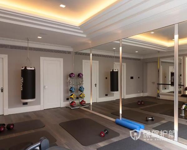家庭健身房装修效果图 家庭健身房装修设计技巧