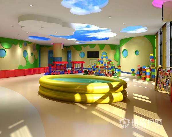 小型幼儿园设计效果图 小型幼儿园设计方法