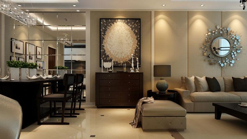 91平两居室简欧风格装修