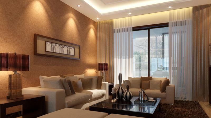 93平米老房装修现代中式风格装修