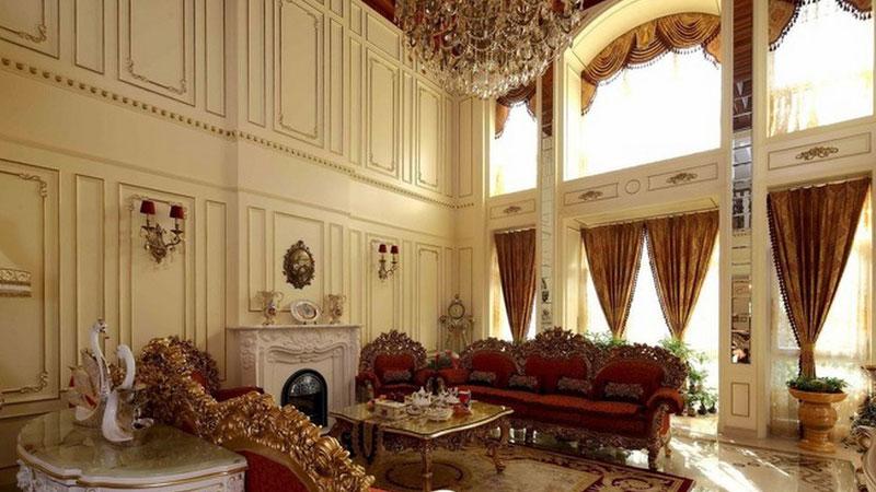 560平米宫廷风格虹景别墅设计