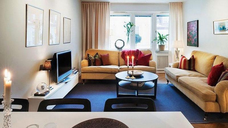 90平米三居室混搭风格