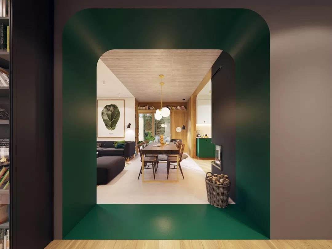 """72㎡现代复式,让家成为""""秘密花园""""..."""
