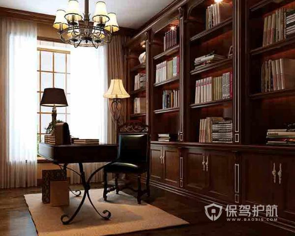 欧式书房如何设计 欧式书房设计要点