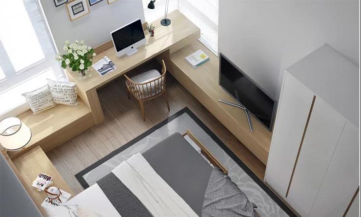 北欧系列卧室,每天叫醒你的不是闹钟,而是大自然!