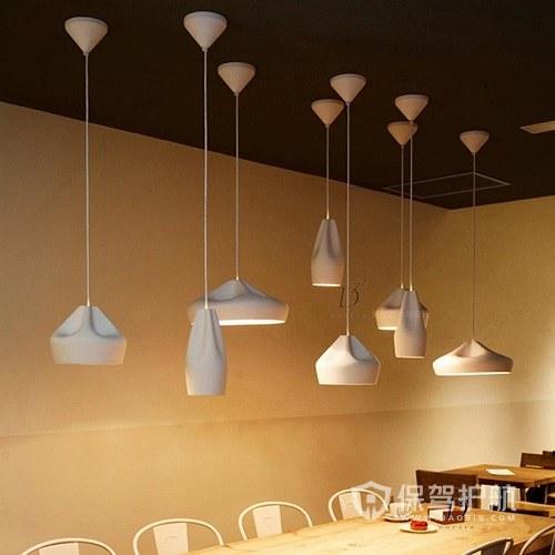 餐厅吊灯离地高度多少最理想?餐厅吊灯效果图
