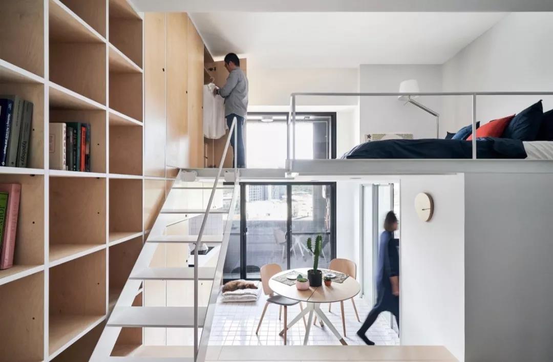 33平的房子,经过设计师之手变身精致小loft!