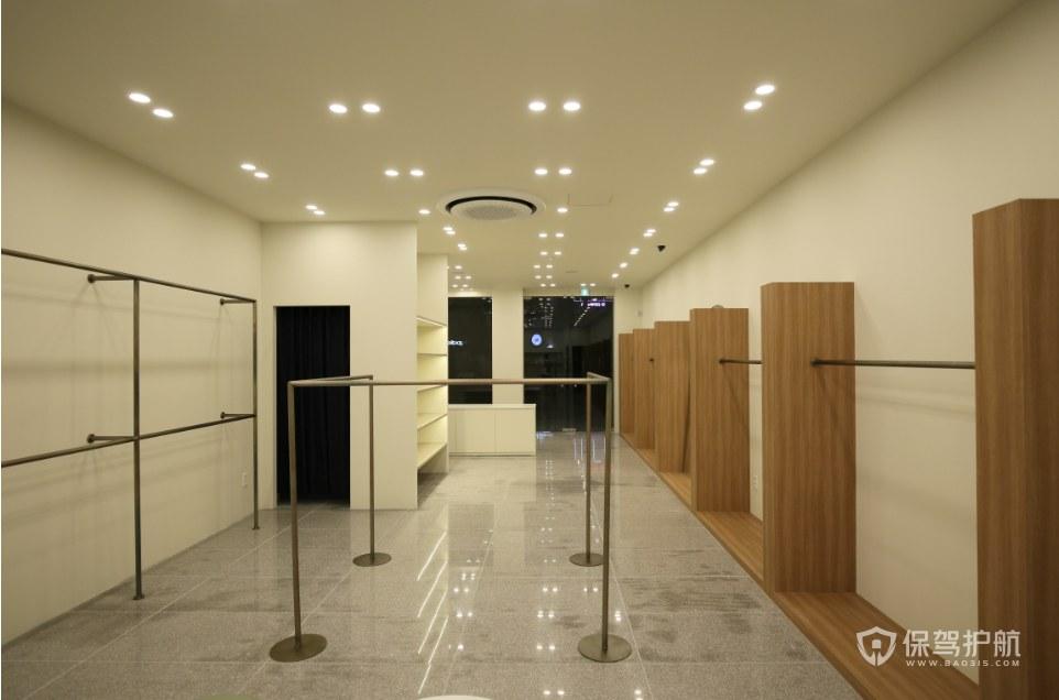 现代极简风格服装店