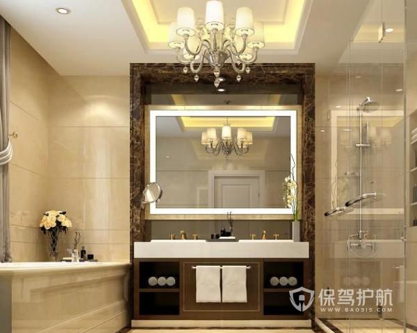 欧式浴室装修有哪些风水 欧式浴室装修风水详情