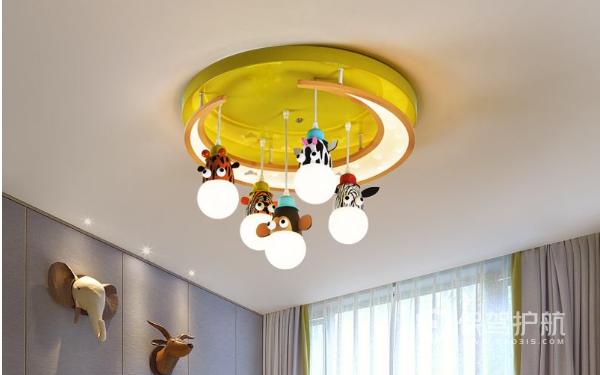 儿童房用什么灯好 儿童房灯饰装修凤凰时时彩平台永久网址图欣赏