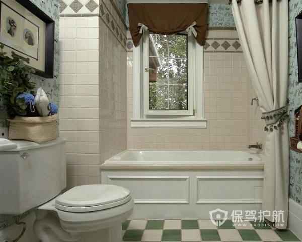 田园卫浴间装修有哪些技巧 田园卫浴间装修技巧