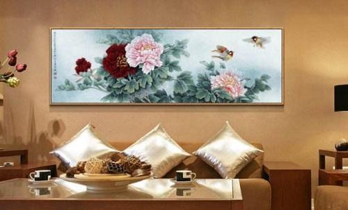 中式客厅挂什么画风水好?客厅挂画有什么禁忌?