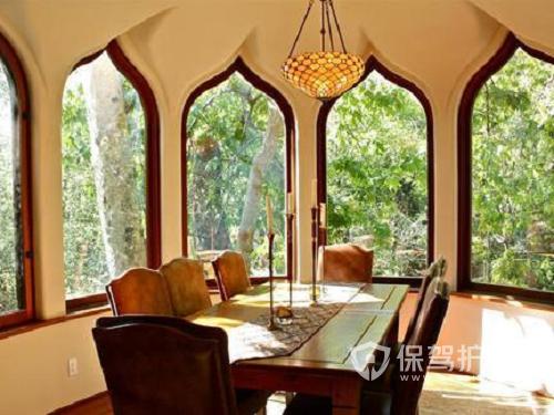 带窗户的餐厅怎么装修好看?餐厅窗户效果图欣赏
