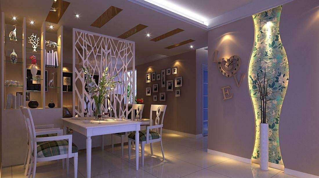 客厅与餐厅一体怎么隔断?客厅餐厅一体装修效果图