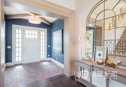家里门厅玄关装修有哪些步骤?门厅装修小技巧