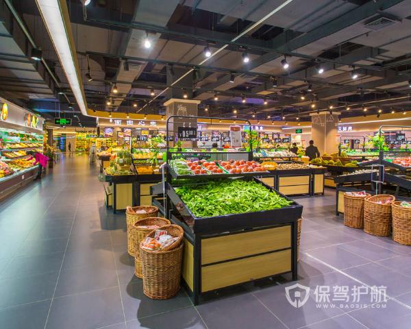 生鲜超市怎么装修设计 生鲜超市装修设计要点