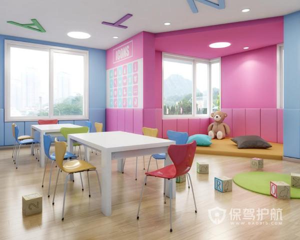 创意幼稚园装修设计要点与效果图-幼儿园装修